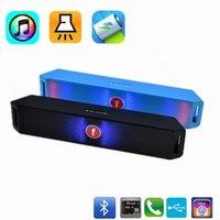 Colorful Mini LED Bluetooth Speaker 800mAh Muti- function Por...