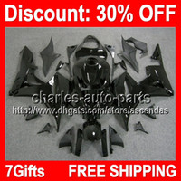 7gifts ALL Black Full Fairing Kit For HONDA CBR600RR 07- 08 C...