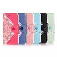 Pour le cas de l'iphone 6s Cas de téléphone portable d'iphone6 / 6s d'iphone 6 / 6s / 6splus / 6plus de dentelle de tendance de la Corée du Sud
