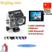 2 Inch Cheap SJ4000 style D001 170°view angle 1080P Full HD ...