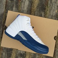 Men' s 12 French Blue Basketball Shoes real version Men ...