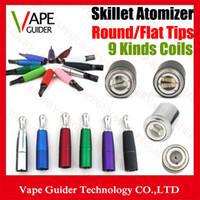 Skillet Ego D Dry Herb Wax Atomizer Multi Color Dual Ceramic...