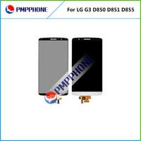 LCD Screen Display Avec Assemblée complète Digitizer remplacement pour LG G3 D855 D850 avec livraison rapide DHL