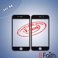Pour l'iPhone 6 4,7 pouces avant écran extérieur verre lentille remplacement de la couverture Livraison gratuite DHL