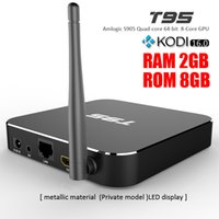 T95 Android TV Box S905 Quad Core KODI16. 0 XBMC fully loaded...