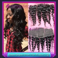 7A Brazilian virgin hair Ear To Ear full Lace Frontal Closur...