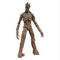 2014 New Movie Guardians of the Galaxy 21CM Groot Action Fig...