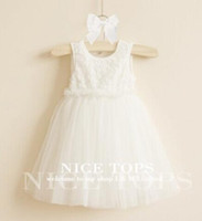 baby girl kids 3D flower tutu dress floral tutu dress pettis...