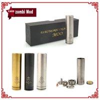 Zombi Mod 18650 Battery Clone SS Black Brass Mechanical Mod ...