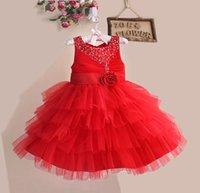 New Arrivals Flower Girl Dresses Children Evening Dress Beau...