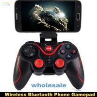 Terios T3 sans fil Bluetooth Gamepad Joystick Game Contrôleur de jeu télécommande pour Samsung S6 S7 HTC Smart Android Tablet TV Box