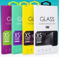 Pour iPhone 5SE 0.26mm 2.5D Protecteur d'écran en verre trempé Shocproof pour iPhone 6 6S Plus S6 S7 Note + Package
