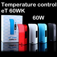 original box mod eT60wk battery 2600mah with micro USB charg...