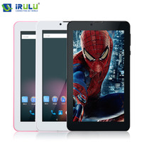New Arrival! iRULU 7 inch Tablet PC 3G Phablet Dualcore MTK8...