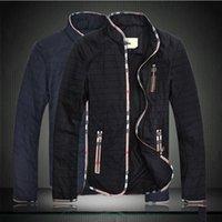 Осень-зима Мужская тонкий Дарин-воротник куртки, модный бренд досуга пальто куртки М --5XL Бесплатная доставка 2015 осень