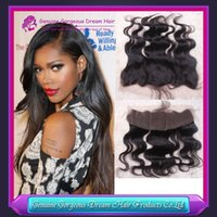 Top Grade 100% Human Hair Brazilian Virgin Hair Lace Frontal...
