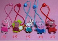 wholesale Pink pig hairpin clip new 5 styles hair ornament B...