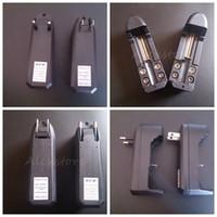 Multi-fonction batteries lithium 18350 18650 li-ion Li-Ion chargeurs UE américains universel unique 500mAh chargeur de 3.7v pour l'e cig ecig e-cigarette