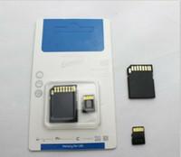 2016 NUEVO vende la tarjeta de memoria de 64 GB 64 GB Clase 10 TF tarjeta micro SD 80pcs / lot
