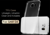 Ultra thin Iphone 6 clear Case Galaxy S6 S5 S4 Iphone 6 plus...