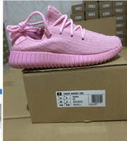 kanye west boost pink shoes 2016 new arrival AAA QUALITY Ath...