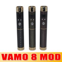 Carbon Fiber Vamo V8 Mechanical Mod Kit Variable Voltage and...