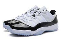 Retro 11 Low Men Shoes White Black Classic Mens Basketball S...