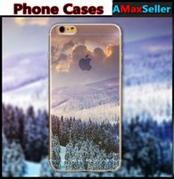 Ultra thin soft TPU Sunshine Forest Ocean Snow Mountain Land...