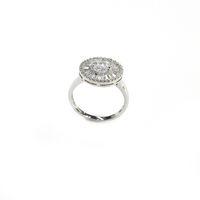 Bague fantaisie, bijoux fantaisie, mariage, bague en argent sterling 925, rhodium, haute qualité, avec AAA CZ cadeau pour les femmes anneaux pour fête ou holiday80834