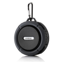 Andoer 5W sem fio Bluetooth 3.0 externas colunas estéreo soundbox Speakerphone Mic Hands-free Water Resistant à prova de choque Dustproof V1211