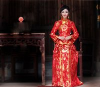 Plus Large size Warm Chinese Traditional Cheongsam for women...