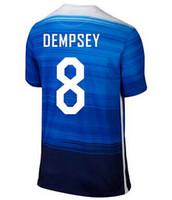 Thai Quality Customized 2015 new USA Team Jerseys Blue 8 DEM...