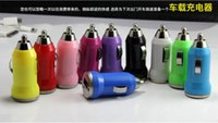 10X High quality Multi Color Mini USB Car Charger Adapter Ce...