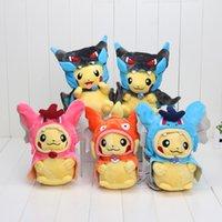 Poke Pikachu Cosplay Charmander Brinquedo Stuffed Plush Soft...