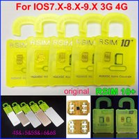 R-SIM-10 плюс Разблокировать Iphone 6s 6 CDMA SRPINT АС SB ios9.1 ios9.0 4G 3G прямого использования НЕТ Rpatch RSIM 10+ R-SIM-10+ г-сим 11 IOS7.X-9.x