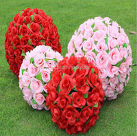 50cm Large Simulation Silk Flowers Artificial Rose Kissing B...