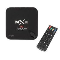 Amlogic S812 quad core Cortex-A9 Kodi XBMC Miracast DLNA H.265 2G / 8G 4K * 2K 2.4G WiFi Mini PC Andoer MXIII-G di Android 5.1 TV Box V1388