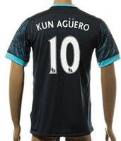 Thai Quality 15- 16 New season men Customized 10 KUN AGUERO S...