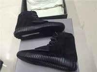 Brand New Mens Shoes Yezy 750 Triple Black Basketball Shoes ...