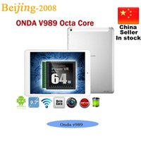 9. 7inch Onda v989 Allwinner A80T Octa Core Tablet PC Cortex ...