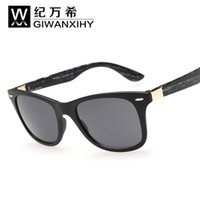 New UV400 Protection High Quality Plank Black Sunglasses Gla...