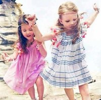 2015 Summer Kid' s Clothes Princess Cotton Sleeveless La...