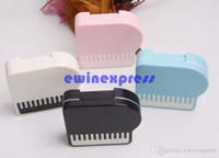 20pcs / серия мило фортепиано контактные линзы кейс коробки Мини-набор перемещения комплект Контактная линза держатель для хранения двойной чехол для объектива замачивания чехол