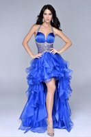 Captivating 2015 Halter Ruched bodice and Sheer- Midriff Crys...