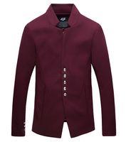 wool blazer men 2015 autumn high quality casual blazer jacke...