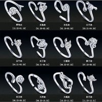 Factory sales New Zodiac 925 Sterling Silver Jewelry Rings W...