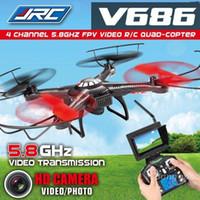 Mode Headless Jjrc V686g WLtoys DV686 V686 5.8GHZ FPV Quadcopter 2.4G 4CH RC professionnelle Drone Hélicoptère avec caméra HD Voler