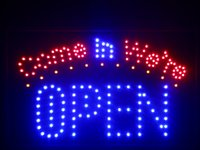 Wholesale- nled003- b Come in we' re OPEN LED Neon Sign 16...