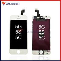 Pour l'iPhone 5 5S 5C affichage à cristaux liquides d'écran tactile Pièces de réparation de remplacement d'assemblage par DHL