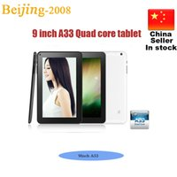 9 Inch A33 Allwinner Tablet PC Quad Core 1. 5GHz Google Andro...